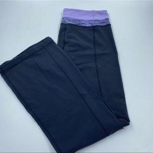 Lululemon Groove Pant Bootcut Yoga Pants 6 Gray